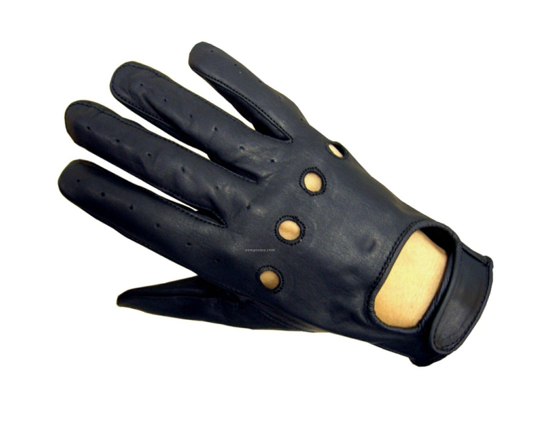 Mens gloves for driving - Men S Black Deer Tan Leather Driving Gloves