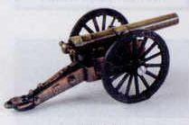 Military Bronze Metal Pencil Sharpener - Brass & Bronze Field Cannon