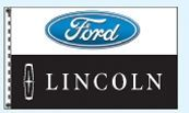 Stock Dealer Logo Flags - Ford/Lincoln (3'x5')