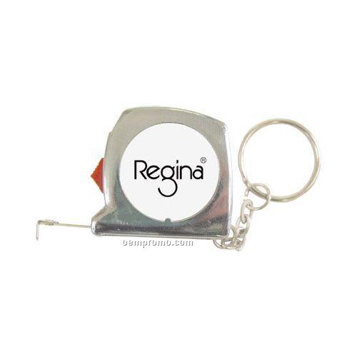 Locking 3 Ft. Tape Measure Keychain