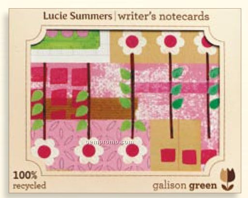 Lucie Summers Writer's Notecards