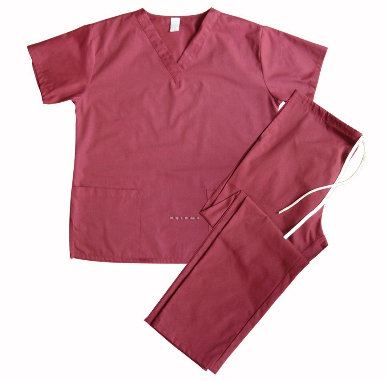 Made In U.s.a. 2-pocket Scrub Set (Xs-xl)