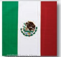 Mexican Flag 100% Cotton Imported Bandanna