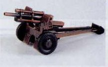 Military Bronze Metal Pencil Sharpener - Howitzer Cannon