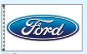 Stock Dealer Logo Flags - Ford (3'x5')