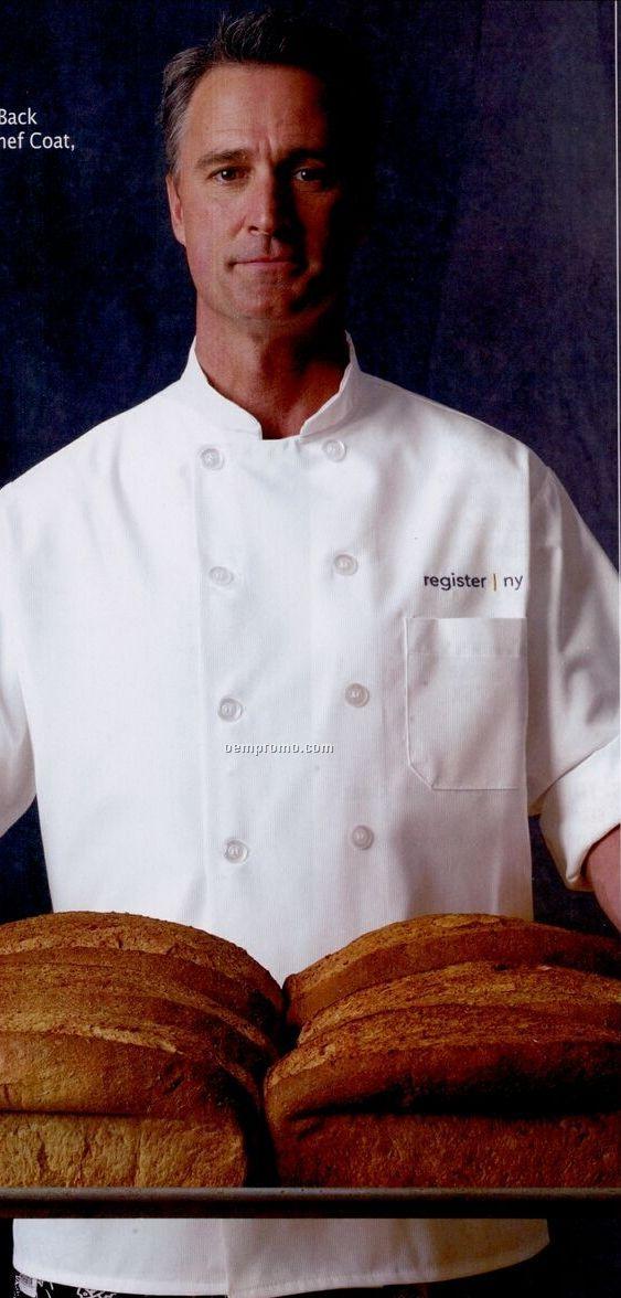 Chef Designs Vented Back Comfort Chef Coat