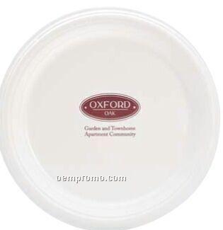 """Colorware 9"""" White Plastic Plate"""