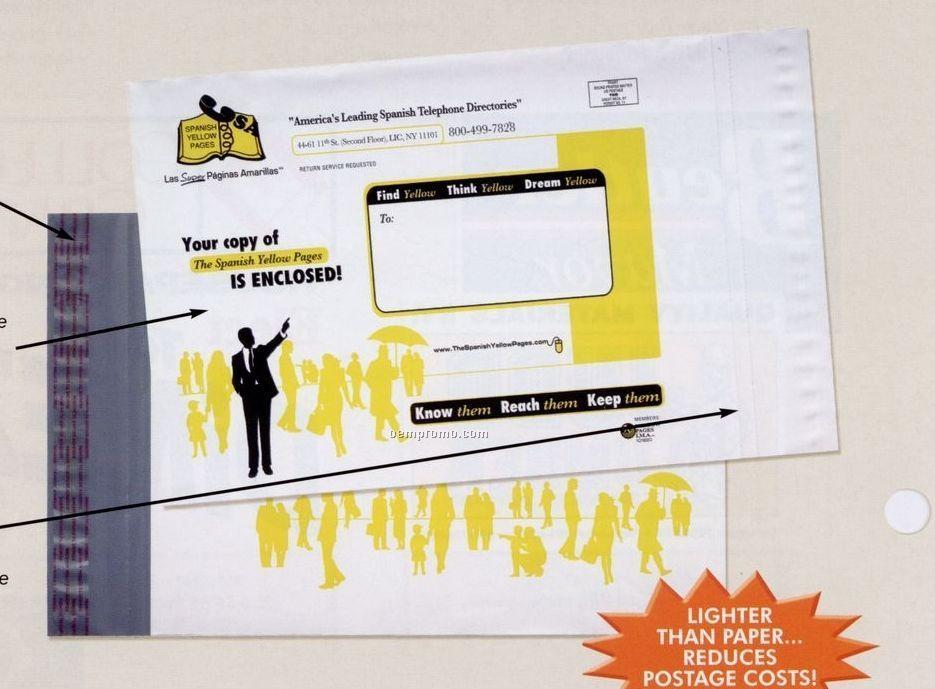 "Custom Print Plastic Mailing Envelope (13 1/2""X18"")"