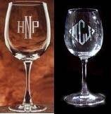 Diamond Etch Process For Glassware