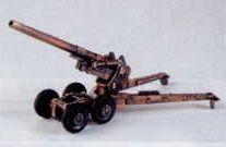 Military Bronze Metal Pencil Sharpener - Long Tom Cannon