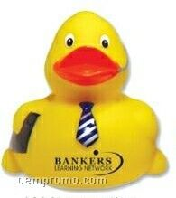 Executive Costumed Rubber Duck (Printed)