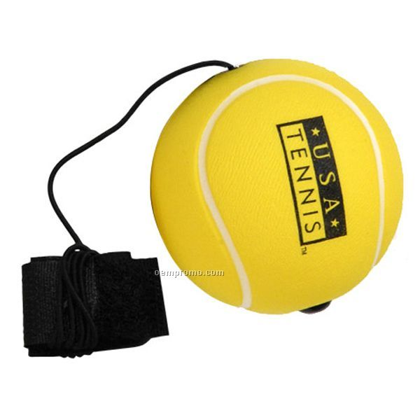 Tennis Ball Yo-yo Bungee Stress Reliever