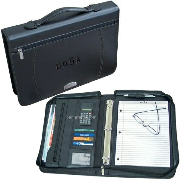 Zippered Notebook Binder (Printed)