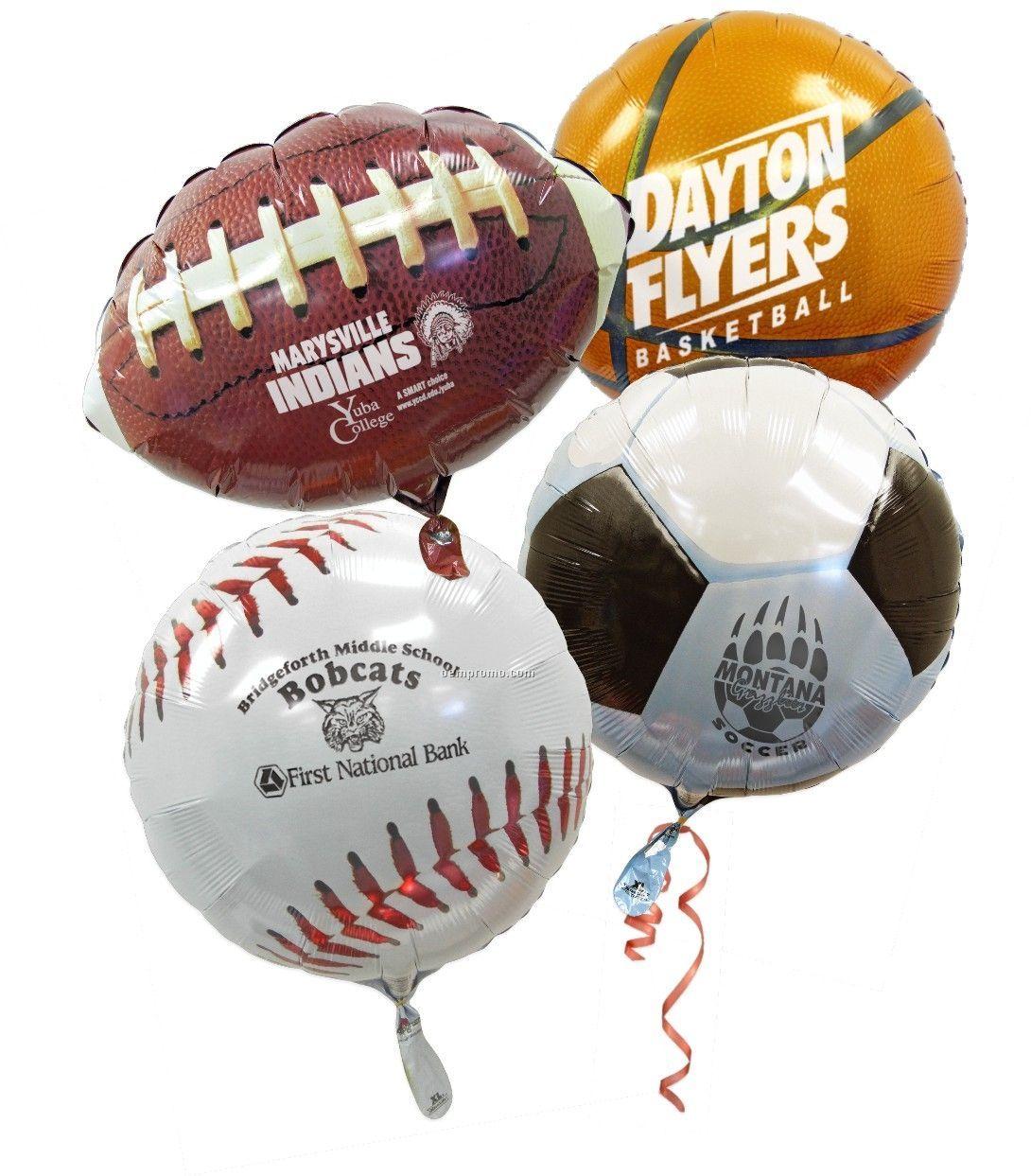 Volleyball Sport Foil Balloons