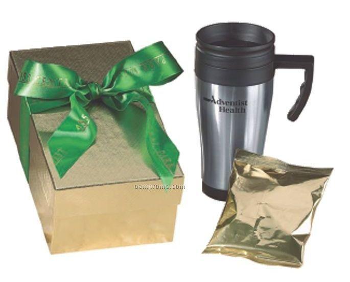 Applause Travel Mug W/ Hot Chocolate