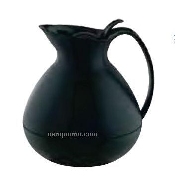 33 4/5 Oz. Black Alfi Toscana Glass Lined Pitcher
