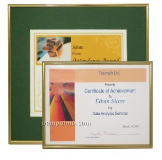 "Basic Metal Certificate & Photo Frames (11""X14"")"