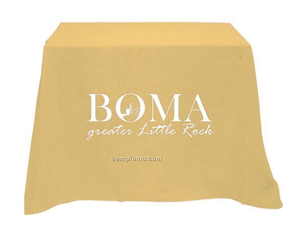 Square Table Cover - Poly/Cotton Twill (Imprinted)