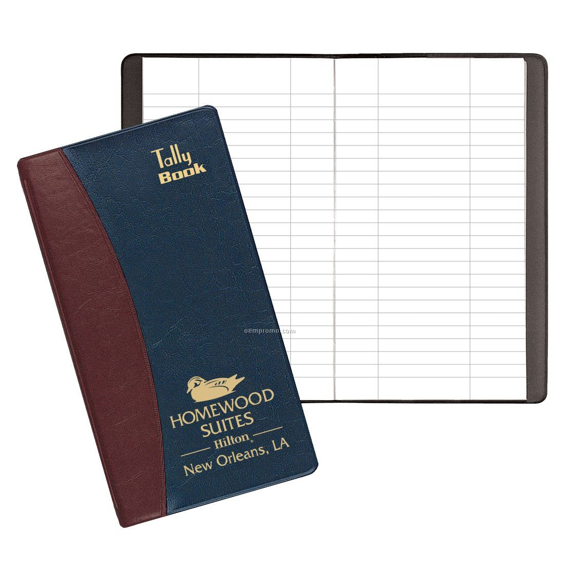 Tally Book W/ Carriage Cove