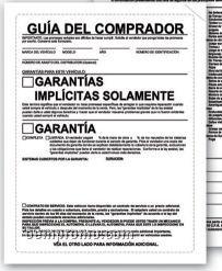 V-t Paper Back Buyer's Guide Laser Form W/ Implied Spanish