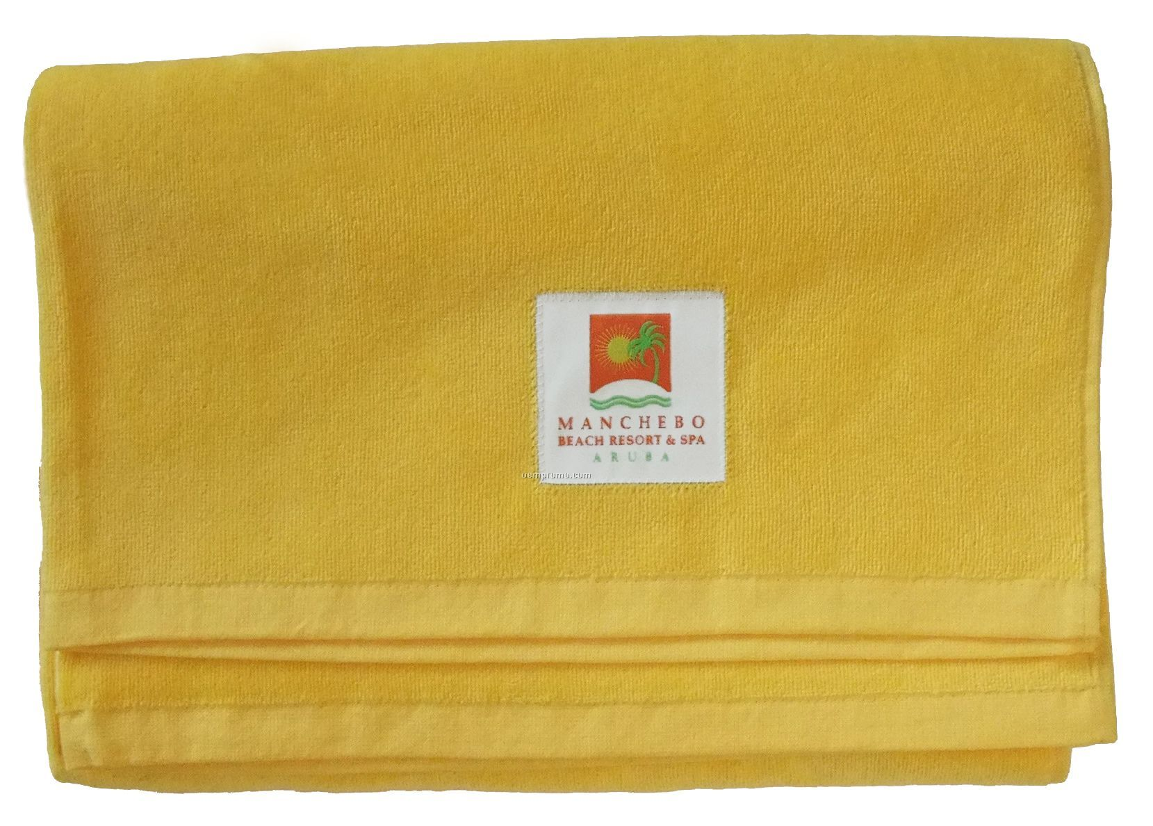 Beach Towel With Elite Fabric Label