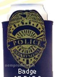 Crazy Frio Beverage Holder - Police Badge