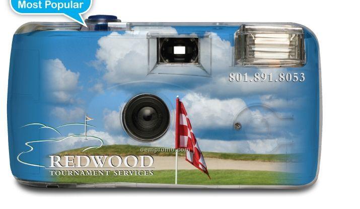 Fully Custom Promotional Flash Camera