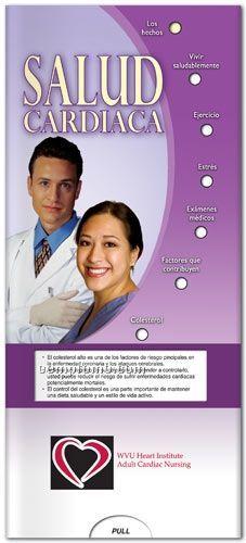 Spanish Healthy Heart Pocket Slider Chart/ Brochure