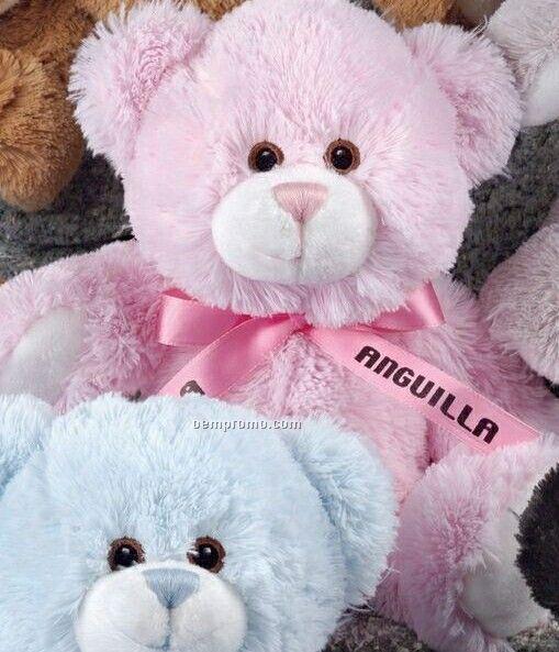 Tumbles Baby Pink Stuffed Bear
