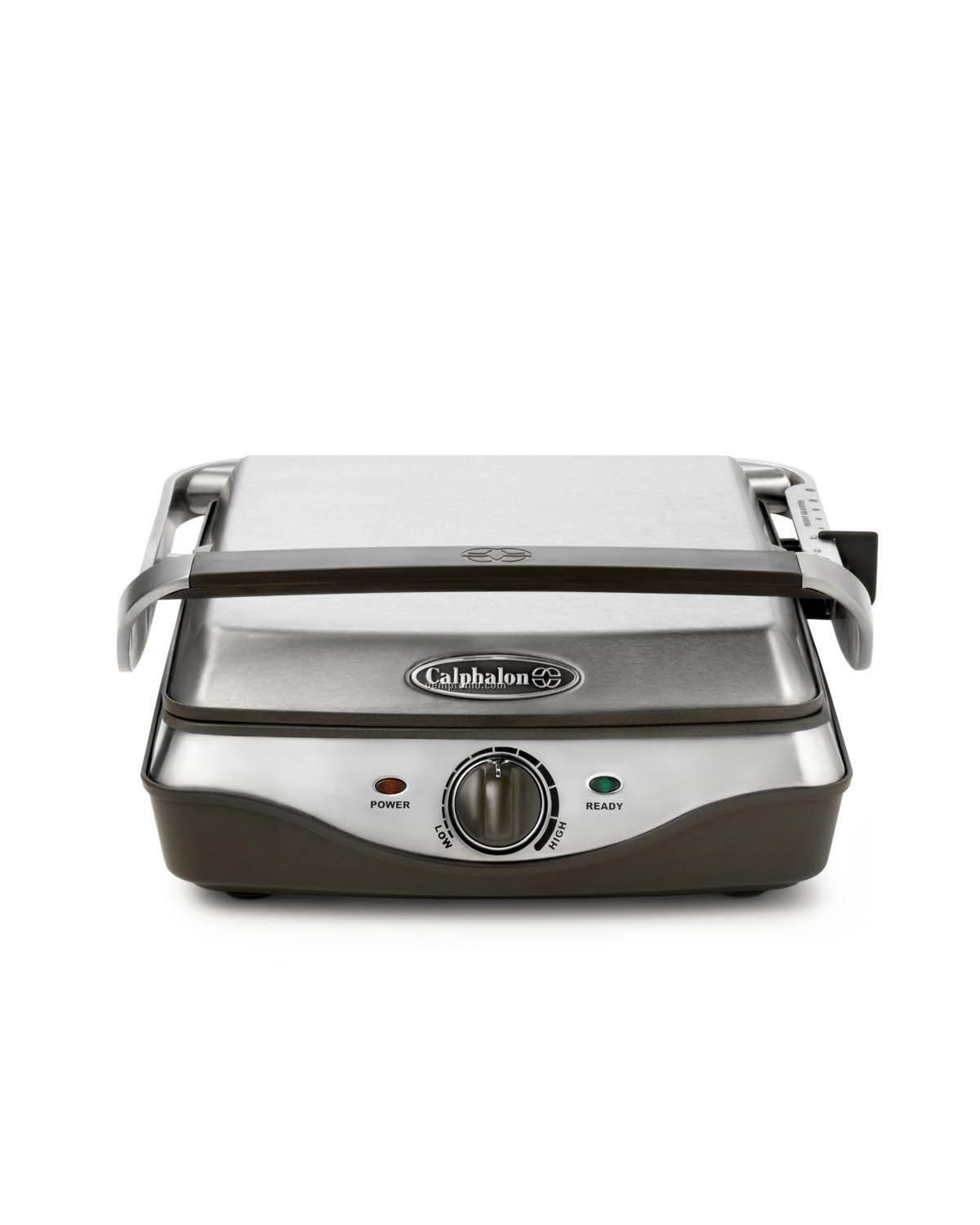 Calphalon Electric Panini Grill W/Opti-heat