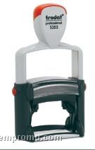 """Heavy Duty Professional Multi Color Self Inking Stamp (2""""X1 1/8"""")"""
