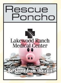 Rescue Poncho With Piggy Bank Template Insert