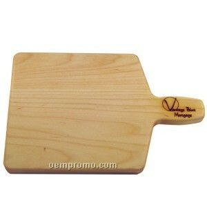 "Bread And Cheese Wood Cutting Board (12""X8"")"