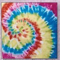 Circular Tie Die 100% Cotton Imported Bandanna
