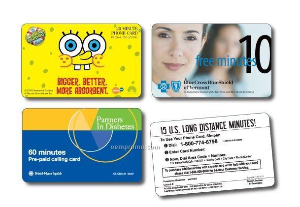 20 Minute Domestic Phone Card