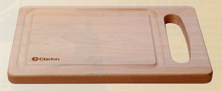 Deluxe Wood Cutting Board (12