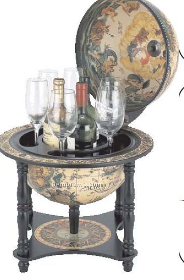 "Kassel 13"" Italian Replica Globe Bar"
