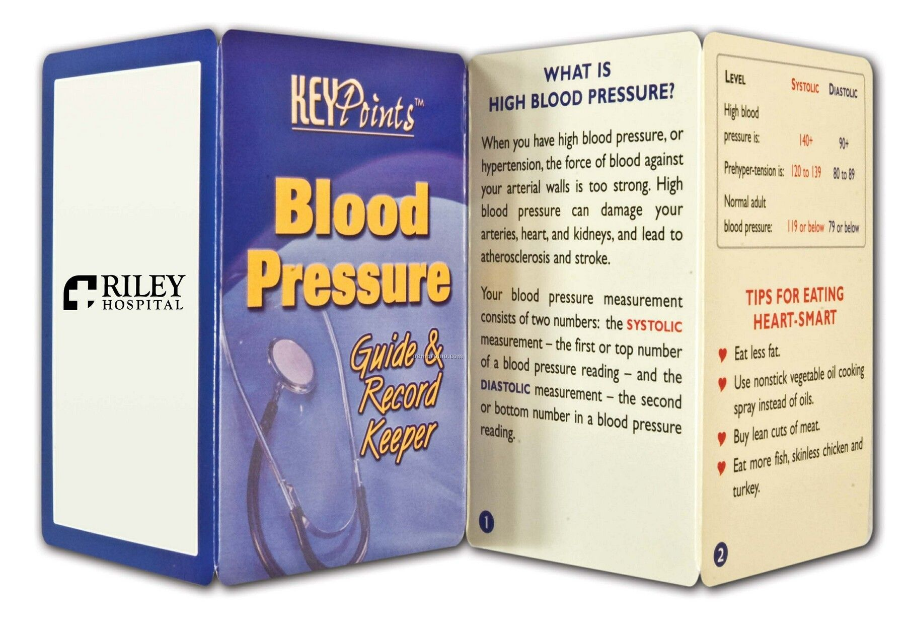 Pillowline Blood Pressure Guide & Record Keeper