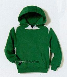 Sport-tek Youth Pullover Hooded Sweatshirt W/Contrast Color (Xs-xl)
