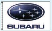 Stock Dealer Logo Flags - Subaru (3'x5')