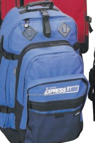 Travel Pack Bag W/ Wheels & Detachable Backpack