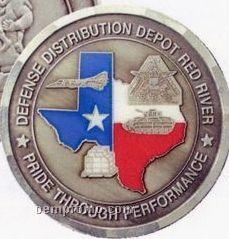 """1"""" 14 Gauge Nickel Silver Coins & Medallions"""