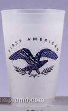 14 Oz. Frosted Souvenir Plastic Stadium Cup/1 Side Imprint