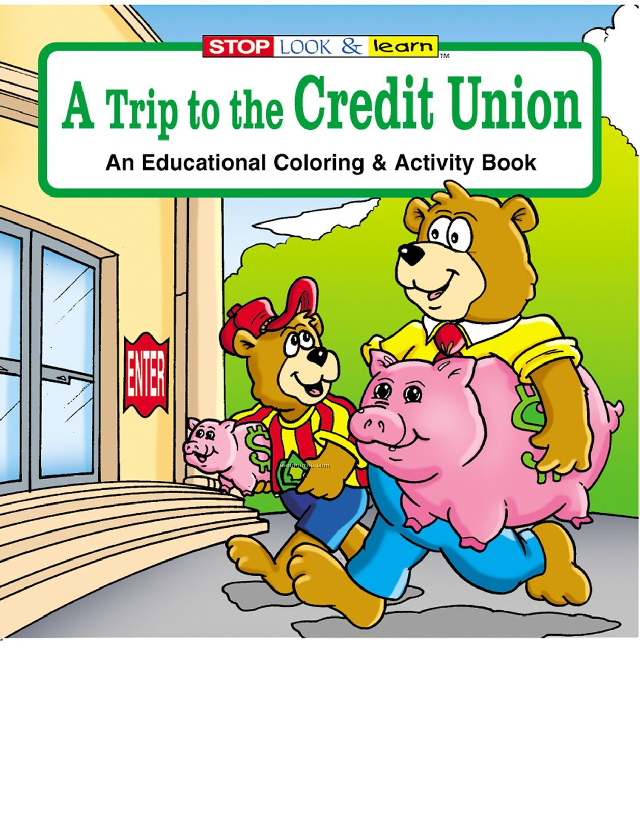 A Trip To The Credit Union Fun Pack