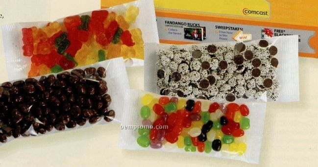 Gummy Bears In Custom Movie Theater Candy Box