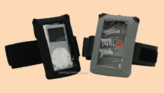 Mp3 & Ipod Athlete Pouch With Window