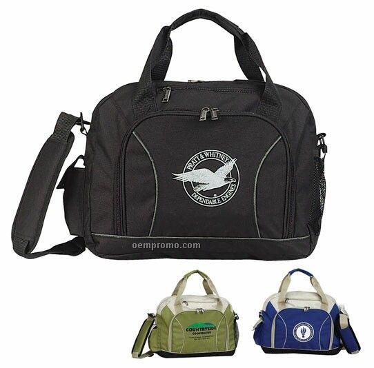 Recycled Pet Brief Bag W/ Shoulder Strap