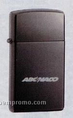 Slimline Black Ice Zippo Lighter