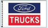 Stock Dealer Logo Flags - Ford Trucks (3'x5')