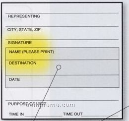 Templog Sign In System W/ Signature & Destination